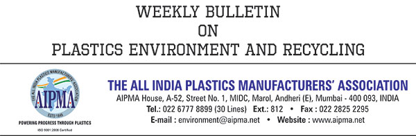 Weekly Bulletin On Plastics Environment and Recycling